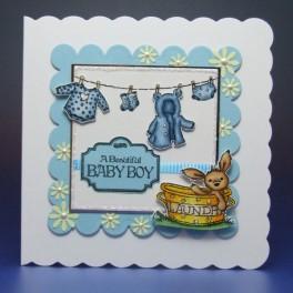 Tiny Washing - Blue