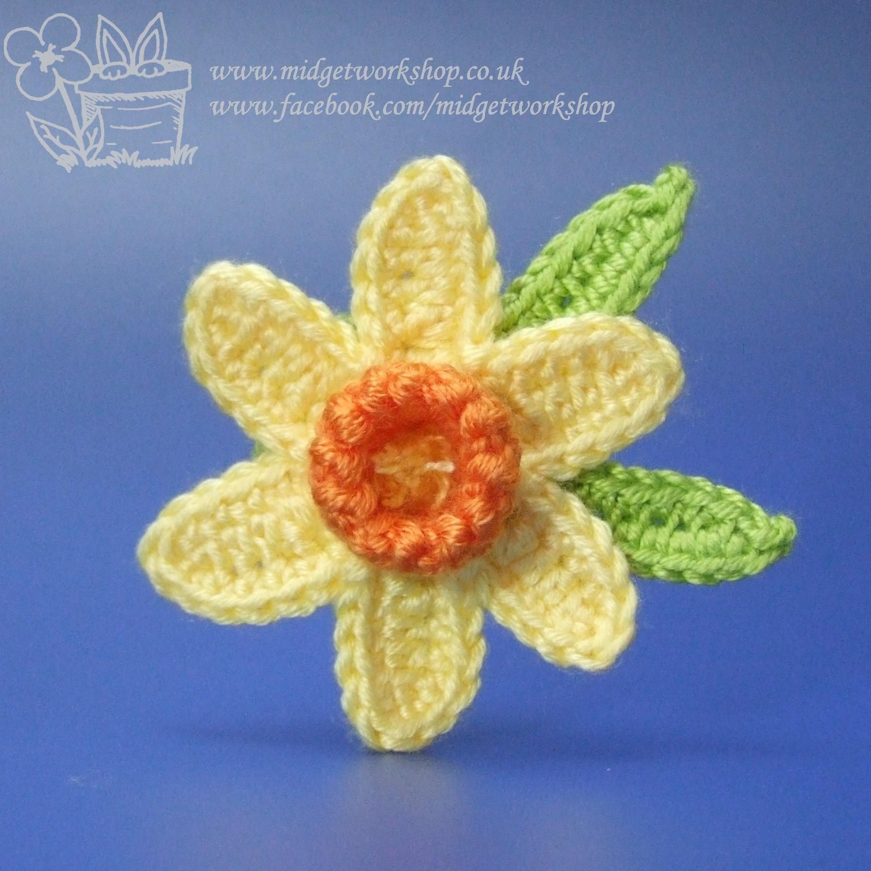 Daffodil Brooches The Midget Workshop