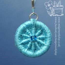 Crosswheel Dorset Button Stitch Marker