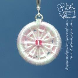 Seven Petal Small Flower Dorset Button Stitch Marker