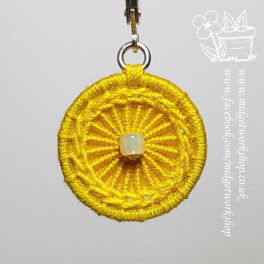 Daisy Chain Dorset Button Stitch Markers