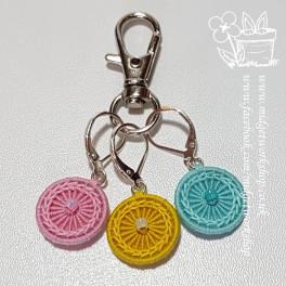 Daisy Chain Stitch Marker Pastel Set