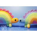 Pastel Rainbowsauruses