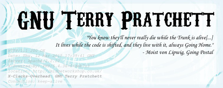 GNU Terry Pratchett